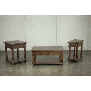 Canora Grey Munoz 3 Piece Coffee Table Set