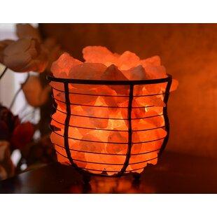 Compare & Buy Hartsville Natural Himalayan 7 Salt Lamp By Bloomsbury Market