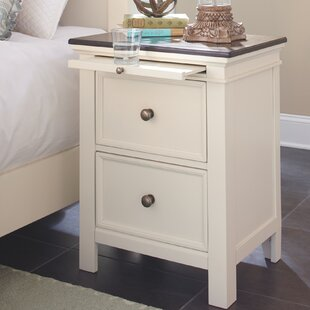Top Reviews Mccormick 2 Drawer Night Stand by August Grove