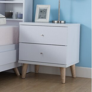 Bowles 2 Drawer Nightstand by Trule Teen