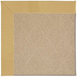 Lisle Machine Tufted Wheatfield/Beige Indoor/Outdoor Area Rug