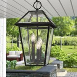 Swensen 3 -Bulb Outdoor Hanging Lantern