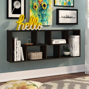 Natalie Geometric Bookcase by Zipcode Design Bargain