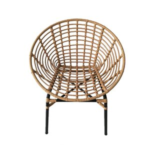 Landrum Metal Barrel Chair