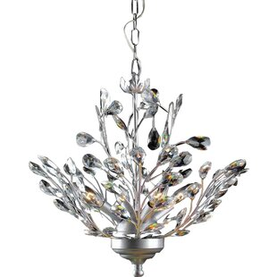 JoJospring Holly 4-Light Candle Style Chandelier