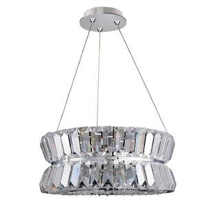 Allegri by Kalco Lighting Armanno 3-Light Crystal Chandelier
