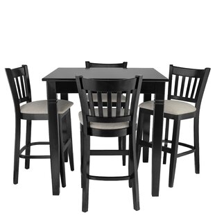 Weisgerber 5 Piece Pub Table S..