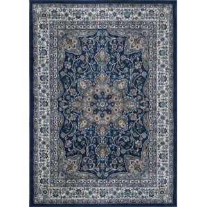 Amazing Tremont Blue Area Rug