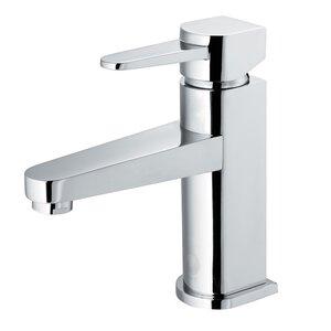 Penela Single Lever Basin Bathroom Faucet with Deck Plate