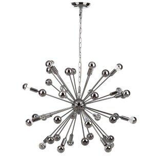 Rao 20-Light Sputnik Chandelier by Brayden Studio