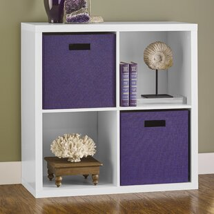 Decorative Storage 76cm Bookcase By Closetmaid