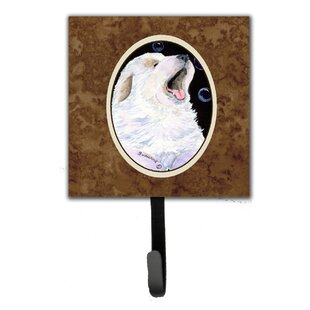 Great Pyrenees Leash Holder and Wall Hook by Caroline's Treasures