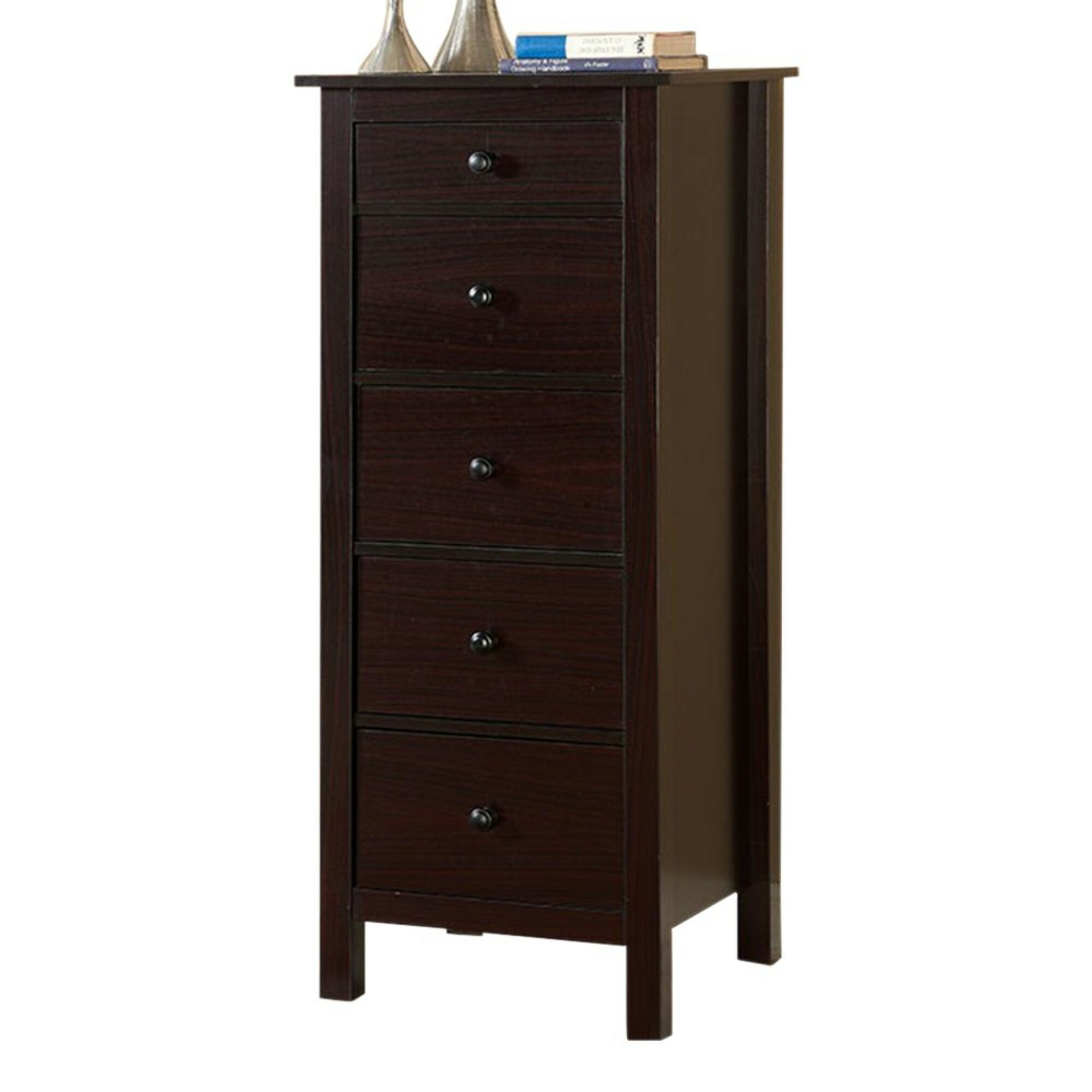Red Barrel Studio Aishya 5 Drawer Square Accent Chest Reviews Wayfair