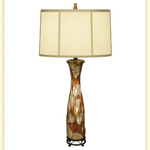 Gilded Porcelain 34 Table Lamp