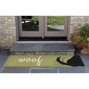 Huffman Woof Hand-Tufted Green Indoor/Outdoor Area Rug