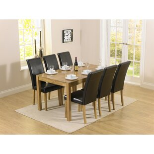 Muoi Dining Set With 6 Chairs By Zipcode Design