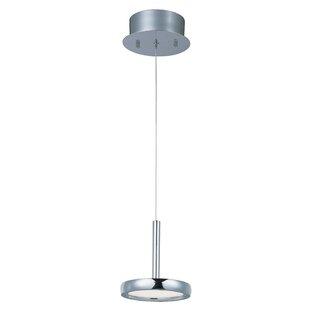 Orren Ellis Malley 1-Light LED Geometric Pendant