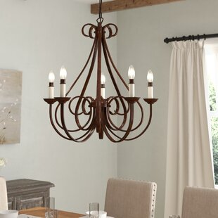 Cayman 5-Light Chandelier by Alcott Hill