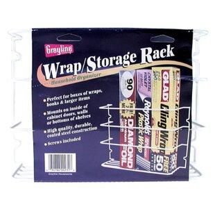 Rebrilliant Saran Wrap and Aluminum Foil Cabinet Door Organizer