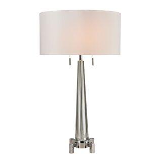 Jacalyn Solid Crystal 30 Table Lamp