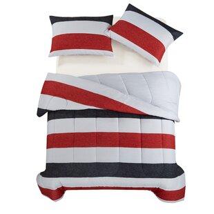 Henrik Reversible Comforter Set