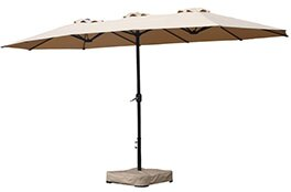 Alcott Hill Keane 15' Market Umbrella
