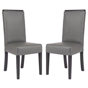 Santana Upholstered Dining Chair (Set of 2) by Orren Ellis
