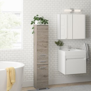 Haylee 30 X 160cm Free-Standing Tall Bathroom Cabinet By Zipcode Design