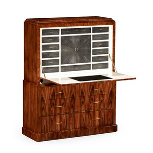 14 Drawer Secretary Desk by Jonathan Charles Fine Furniture