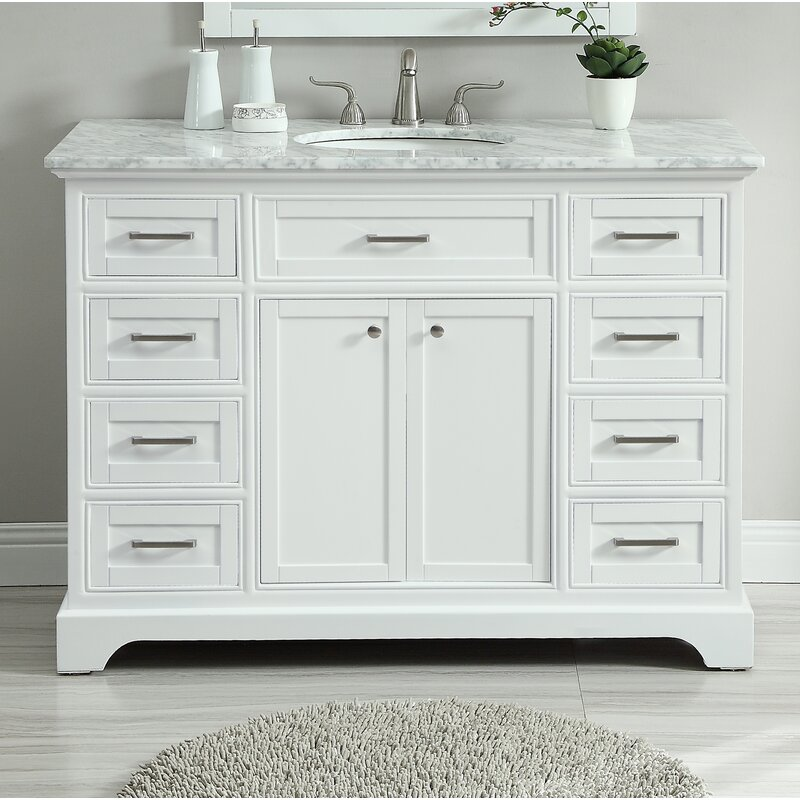 "Darry 48"" Single Bathroom Vanity"