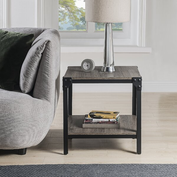 17 Stories Deemer End Table With Storage Wayfair