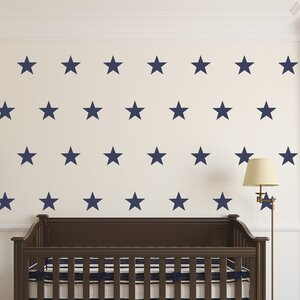 Urban Walls Five Point Stars Wall Decal Wayfair