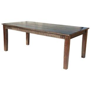 Loon Peak Mortenson Solid Wood Dining Table