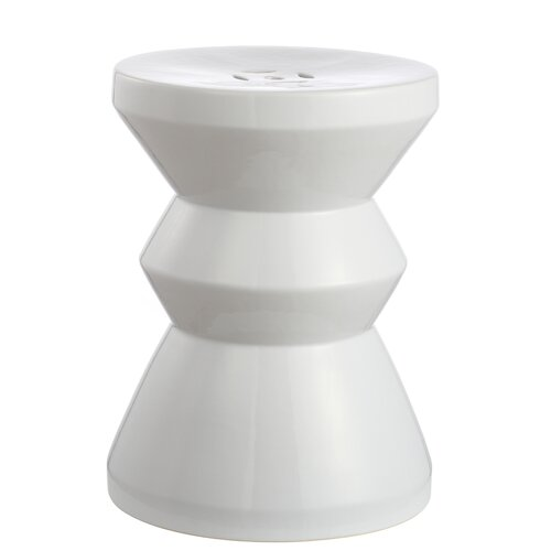 Potashnick Stool Sol 72 Outdoor Colour: White