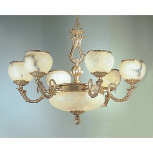 Classic Lighting Alexandria I 9-Light Shaded Chandelier