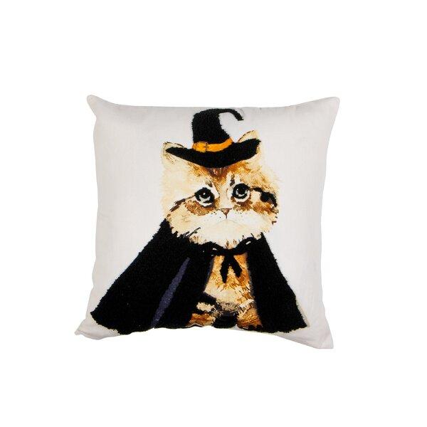 100 Cotton Playful Throw Pillow Wayfair