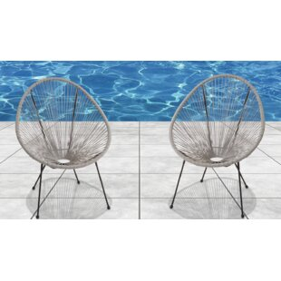 Coupon Zion Papasan Chair (Set of 2) by Langley Street Reviews (2019) & Buyer's Guide