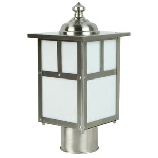 Oakhill 1-Light Steel Lantern Head