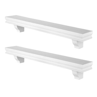 Byerly Decorative 2 Piece Floating Shelf Set by Charlton Home