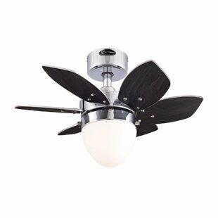 Savings 24 Rabideau 6-Blade Ceiling Fan By Wrought Studio