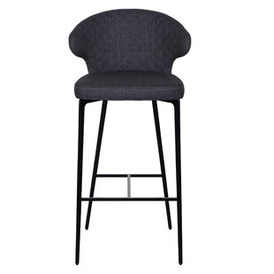 Letchworth 29.5'' Bar Stool Wrought Studio
