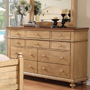 Three Posts Courtdale 10 Drawer Dresser