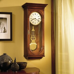 Chiming Key-Wound Lewis Wall Clock by Howard Miller?