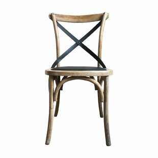 Diboll Solid Wood Dining Chair Gracie Oaks