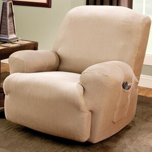 Stretch Stripe T-Cushion Recliner Slip..