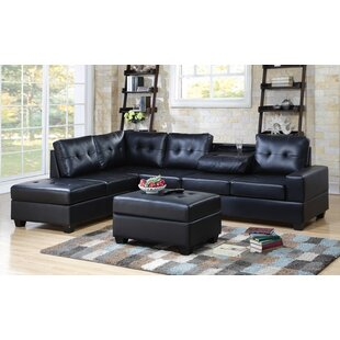 Charlton Home Philipstown Heights Modular Sectional with Ottoman