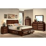 Justa Sleigh Configurable Bedroom Set by Canora Grey