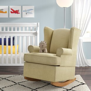 Best Choices Bender Wingback Rocking Chair by Harriet Bee Reviews (2019) & Buyer's Guide