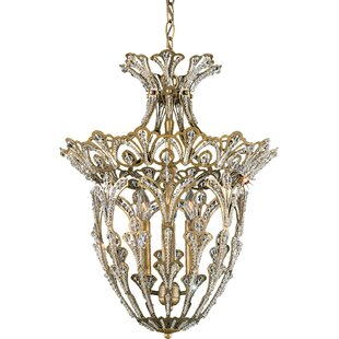 Schonbek Rivendell 4-Light Crystal Chandelier