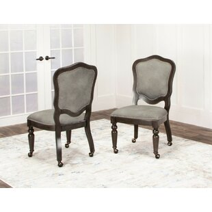 Oroville Upholstered Dining Chair (Set of 2)